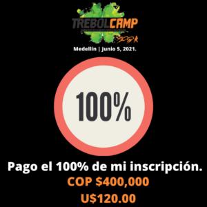 Inscripción Pago Completo (U$120.00)