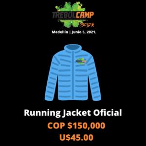 Running Jacket Oficial (U$45.00)